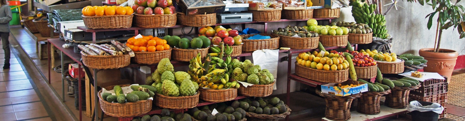 Farmers Market in Funchal, Madeira