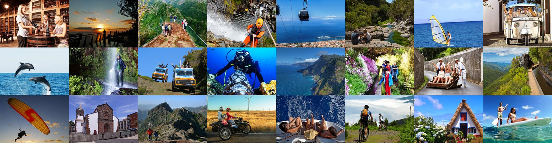 Activities in Madeira Island