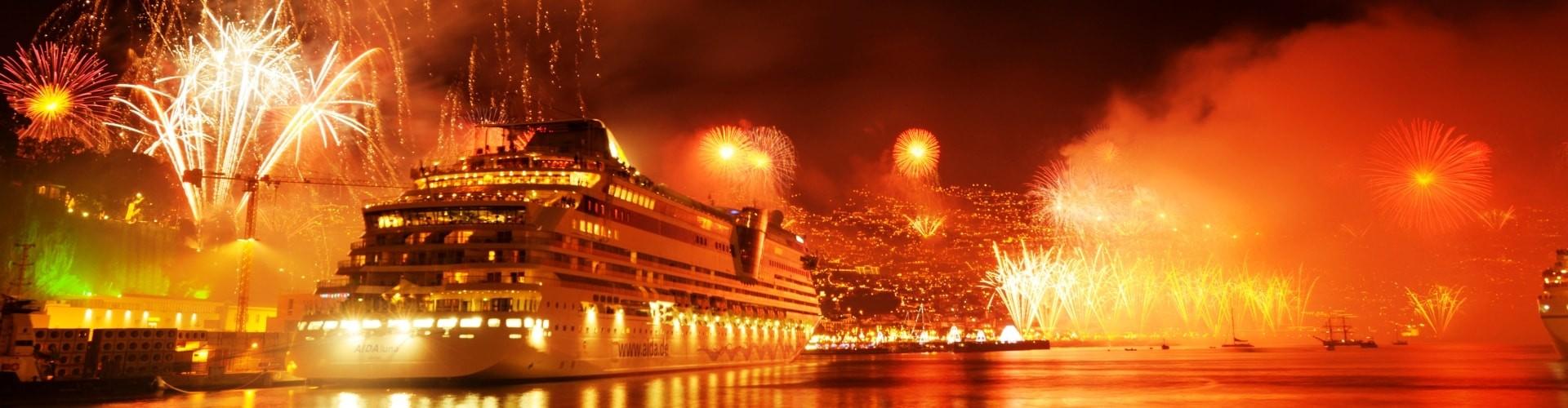 Fogo de Artificio na Ilha da Madeira
