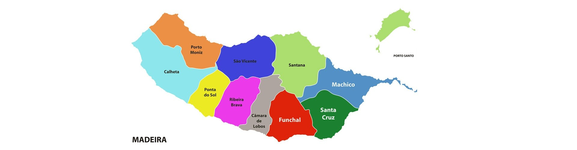 Madeira Island Towns and Municipalities
