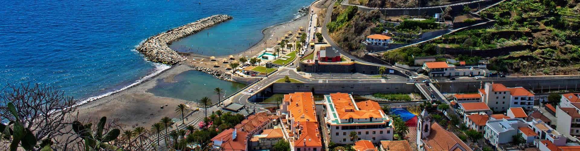 Municipio da Ribeira Brava na Ilha da Madeira