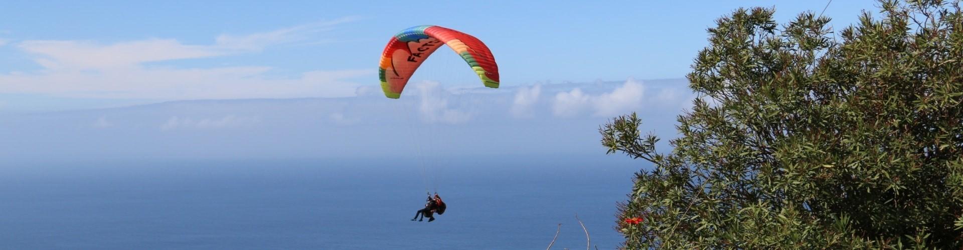 Parapente na Ilha da Madeira