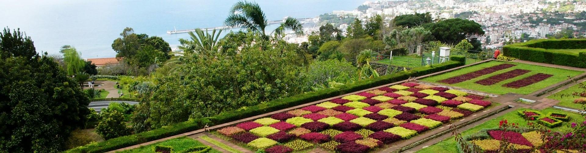 Jardins e Parque na Ilha da Madeira