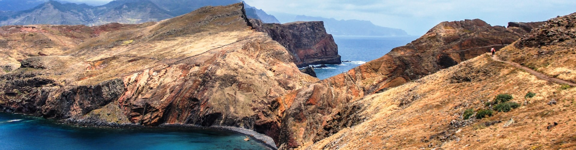 Baia d'abra easy trail tour in Madeira Island