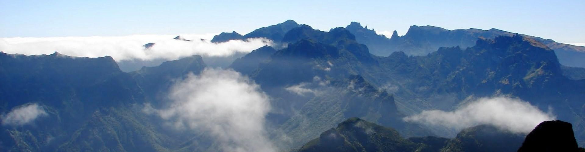 Bica da Cana Viewpoint in Paul da Serra, Madeira Island