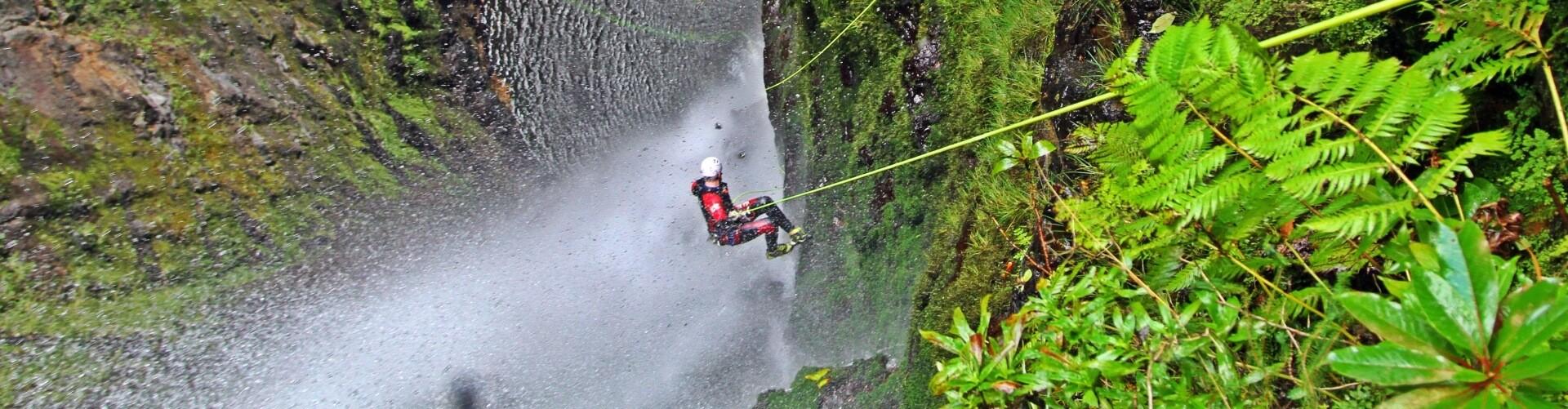 Canyoning Madeira Epic Level 2 Intermediate