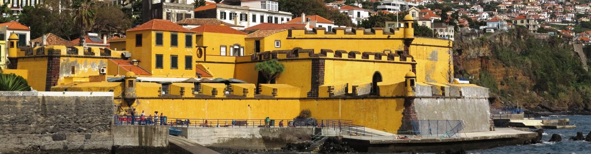 Fortaleza de Sao Tiago, Saint James Fort, Funchal, Madeira