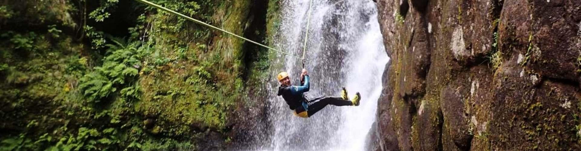 Canyoning na Madeira Ribeira do Lajeado Nivel 2