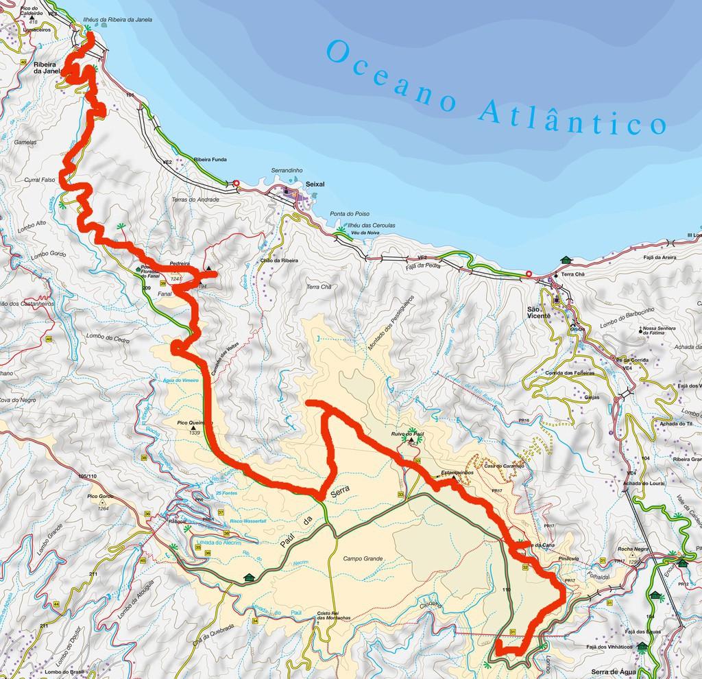 Paul Serra Ribeira Da Janela Bike Tour In Madeira Island