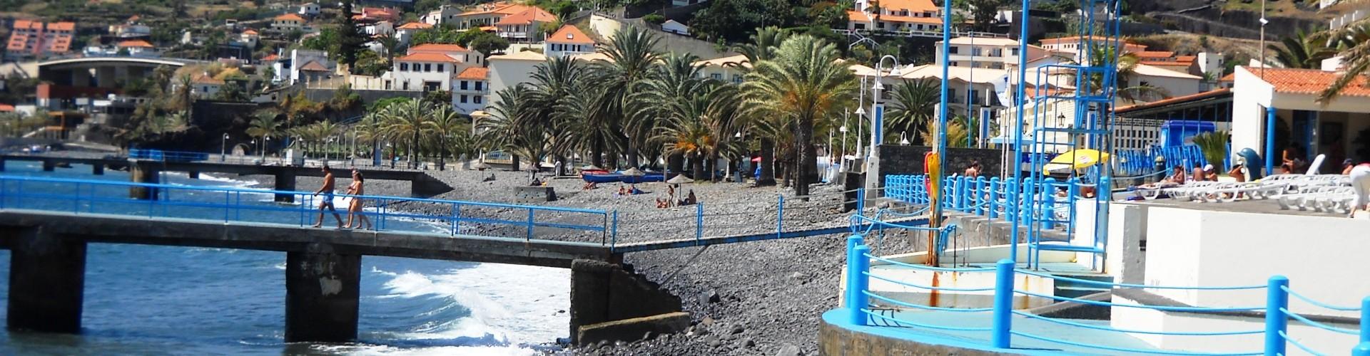 Palmeiras Beach, Santa Cruz, Madeira
