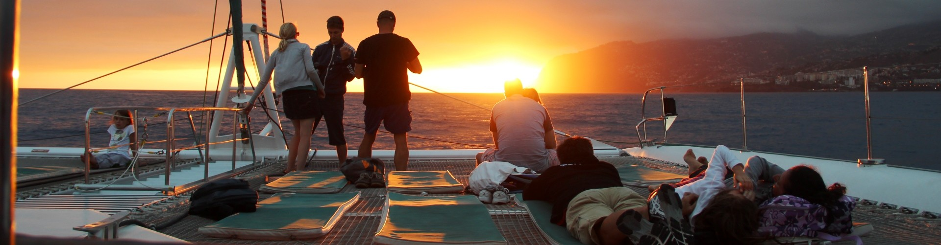 Catamaran Sunset Trip in Madeira Island