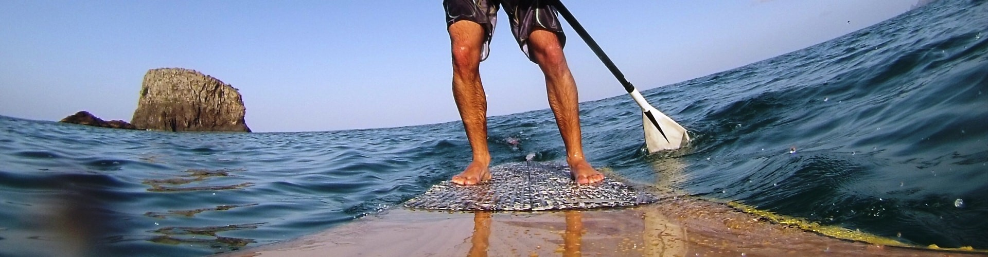 SUP stand up paddle in Madeira Island