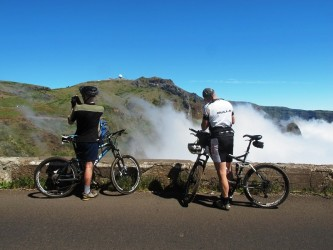 Atop Pico do Arieiro Bike Tour in Madeira