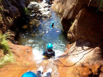 Beginners Canyoning in Madeira Island