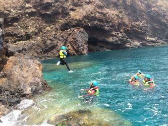 Coasteering in Madeira Island