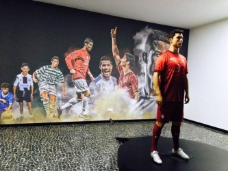 CR7 Cristiano Ronaldo Museum in Funchal, Madeira Island