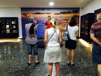 CR7 Cristiano Ronaldo Museum in Funchal, Madeira Island