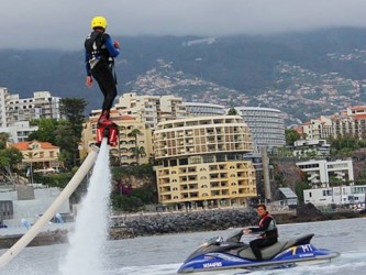 Flyboard Watersport in Madeira