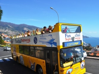 Hop-On Hop-Off 3 in 1 Sightseeing Bus in Madeira