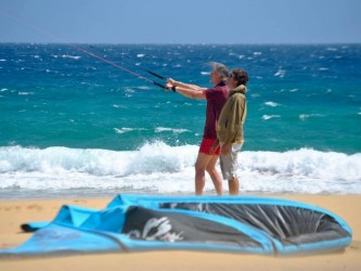 KiteSurf Experience in Porto Santo, Madeira