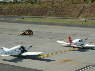 Madeira Air Plane Tours on a Cessna