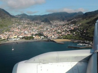 Airplane Tour Funchal Bay Madeira
