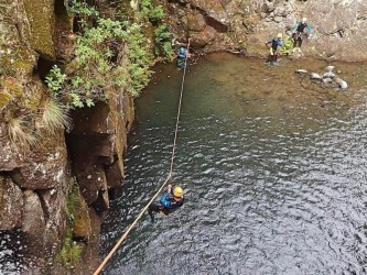 Madeira Canyoning in Ribeira do Lajeado Level 2