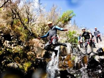 Canyoning na Ilha da Madeira na Ribeira das Cales – Level 1