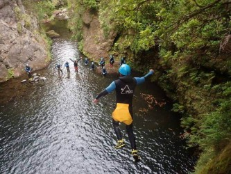 Madeira Canyoning Level 2  Ribeira do Lageado