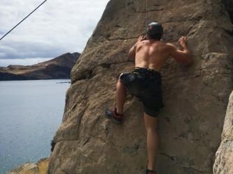 Madeira Climbing Guided Experience in Ponta Sao Lourenço