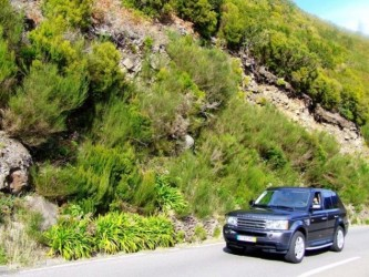 Madeira Half Day Private Hire of an exclusive Range Rover