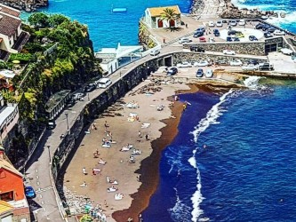 Madeira Natural Pools West Tour on a Open Roof Top Mini Van