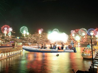 Madeira New Year's Eve Fireworks by the Sea on Speedboat