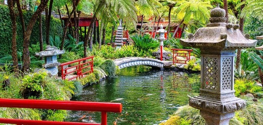 Monte Palace Tropical Garden in Madeira Island