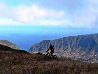 Mountain Bike Ride in Madeira