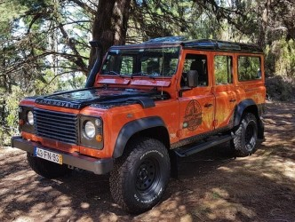 Old Forest Madeira East Tour Land Rover Defender