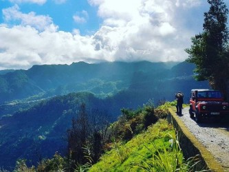 Old Forest Madeira East Tour Land Rover Defender