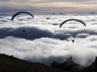 Paragliding Funchal Madeira