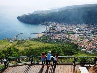 Pico do Facho viewpoint in Machico, Madeira Island
