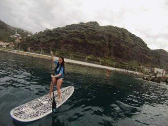 Stand Up Paddle Lessons na Ilha da Madeira