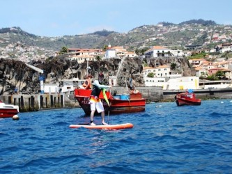 Stand up Paddle SUP Tours in Madeira Island