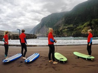 Surf Group Lesson in Madeira