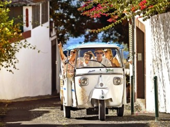 Tukxi Eco City Tours no Funchal, Madeira