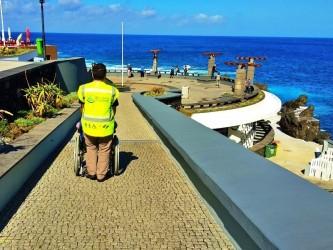 Visite São Vicente com acessibilidade para cadeira de rodas na Madeira