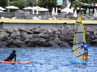 windsurf lessons tours in madeira island
