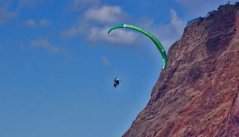 Paragliding in Madeira Island