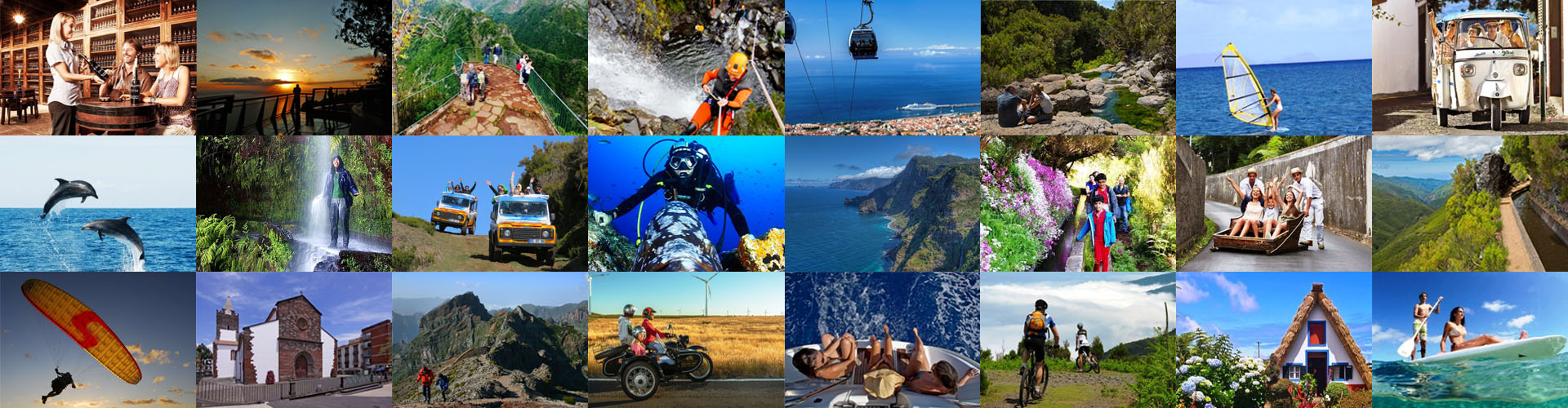 madeira guide - activities in madeira islands