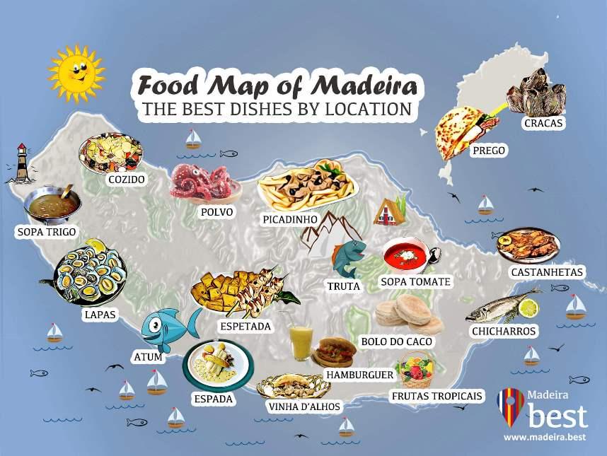 what to eat in madeira island